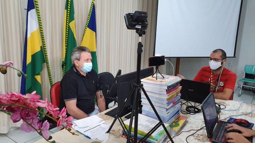 Audiências transmitidas ao vivo pela internet apresentaram metas fiscais da Prefeitura de Vilhena