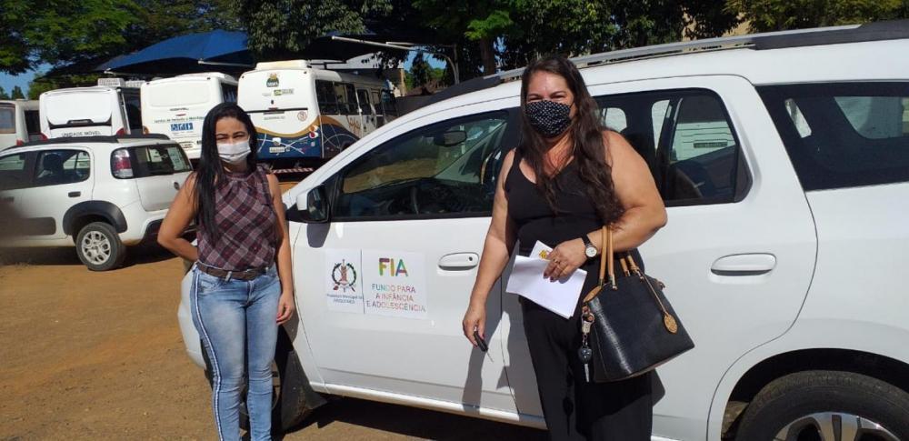 Prefeitura de Ariquemes entrega veículo para instituição de acolhimento às crianças e adolescentes